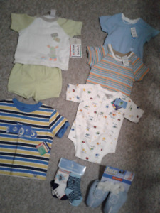 Batch of NEW WITH TAGS Great Baby Boy Items