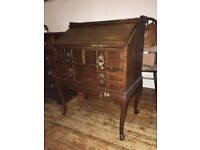 Solid Wood Writing Bureau/Desk