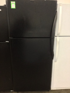"30"" Black Fridge and Freezer"