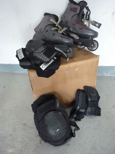 Adult woman Pre-owned Inline roller blade  & accessories Oakville / Halton Region Toronto (GTA) image 1