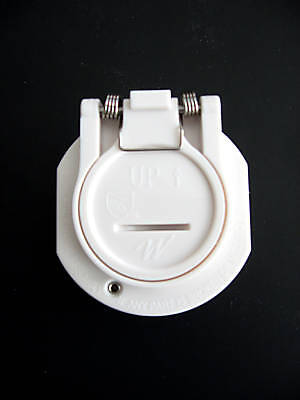 Vac Lock Safety Pool Wall Hose Fitting White Replacement for Hayward W400WHP