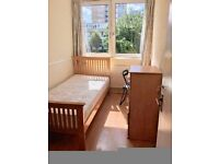SINGLE ROOM with BALCONY to rent in CANARY WHARF