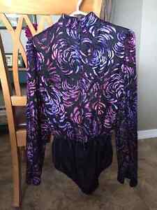 Lady's or Girl's Western Riding Show Shirt