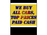 Scrap cars and vans wanted 07562877588