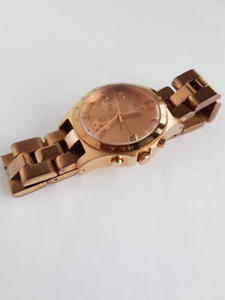 Marc Jacobs Henry Chronograph Rose Gold Ladies Womens Watch