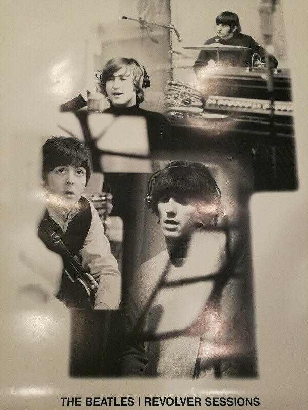 The Beatles Revolver Sessions - Giant Poster