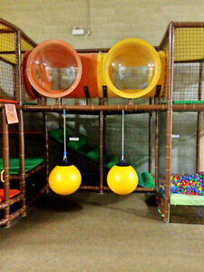 Kids Indoor Play Structure With Ball Pit