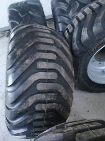 550 45 22.5 agri trailer wheels