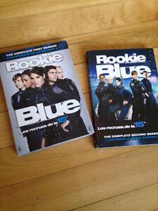 Série TV DVD Rookie Blue neuve emballée - Saison 1 et 2