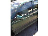 Volkswagen golf mk4 green passenger door