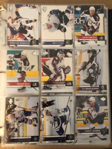 1000+ Upper Deck/Fleer/McDonald's Hockey Card's Lot.