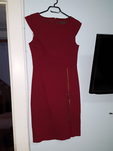 Red Suzy Shier dress