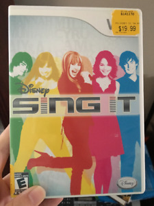 Disney Sing It For Wii