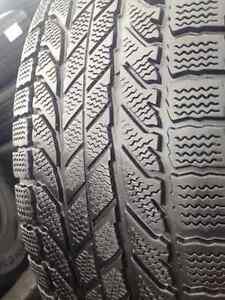 Set of 4 Bfgoodrich   winter tires 265/70/17