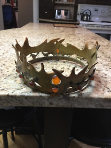 Couronne de Robert Baratheon (Game of Thrones) Fait à la main