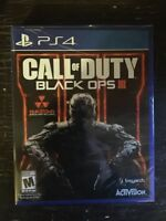 COD Black Ops 3 for PS4 $60 new sealed
