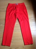 Slim red pants - size 2