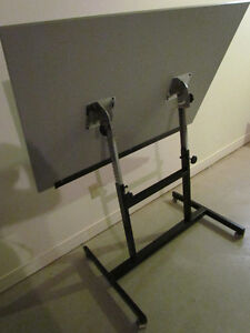 Tilting Drafting / Artist Drawing Table And Chair For Sale Cornwall Ontario image 3