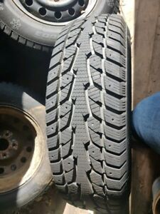 Winter Tires with Rims 215/70-16
