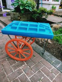 Children's toy food cart