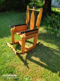 Handmade garden rocker
