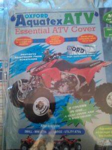 OXFORD AQUATEX ATV COVER SILVER SIZE MEDIUM  BRAND NEW