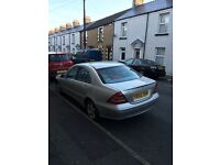 Mercedes benz C class for sale or swap