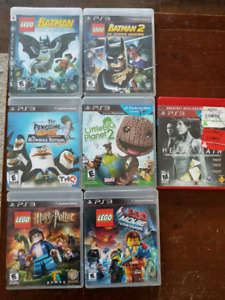 PS3 Games $5.00 each