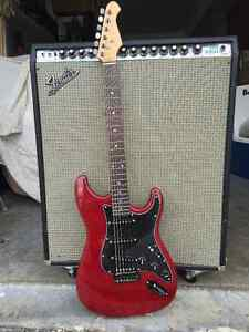 Stratocaster Style Guitar GFS upgrades