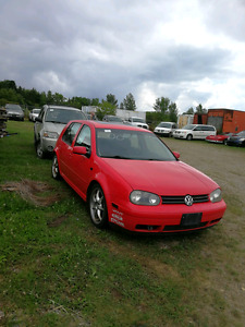 Need gone today 00 vw golf 1.8