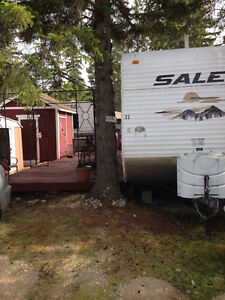Holiday trailer at Candle Lake (mariner's cove)