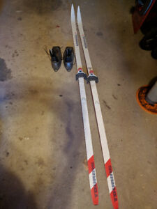 Cross country skis!