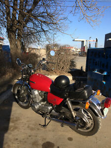 1978 honda cb 750 hi lo automatic good condition 3rd owner