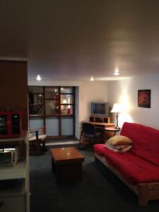 Grand studio meublé et équipé