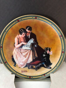 Artistic Painted Plates by Bradford Exchange