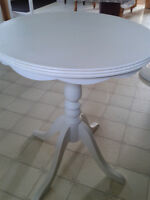 LOVELY ROUND SIDE TABLE OR BEDSIDE TABLES......