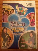 Wii Disney Channel All Star Party Game