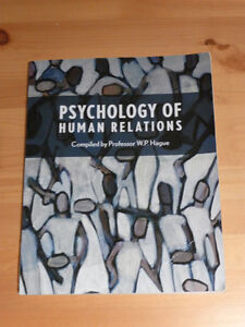 Psychology of Human Relations by prof. W.P. Hague