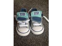 Infant size 6 Low Top Converse!