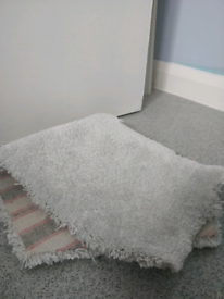 Large piece of new grey carpet offcut