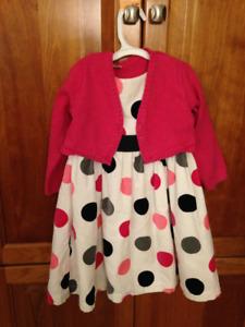 2pc Carters dress size 3T