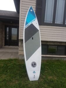 SUP -EXCELLENT used condition with paddle & leash