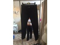Warehouse washed look black jeans size 16 £10