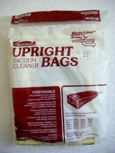 Brand New Kenmore Upright Vacuum Bags (6)
