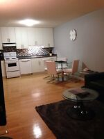 1 bed condo River Hts, in suite laundry, all utils and wifi inc