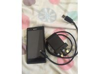 Sony phone on 3G very good condition comes with a charger