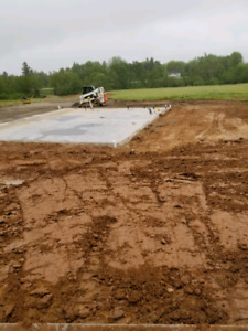 Land with foundation and septic