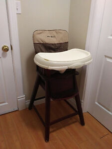Eddie Bauer wood highchair