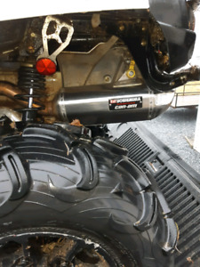 Can am outlander exhaust