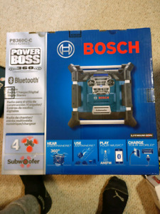 Bosch 360 bluetooth radio